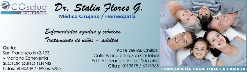 Homeopatas Quito Stalin Flores