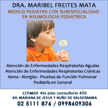 Pediatras Quito Maribel  Freites Mata