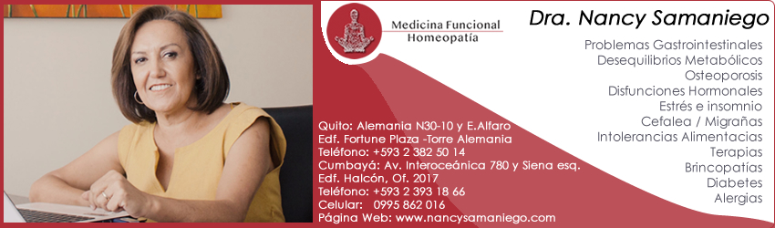 Homeopatas Quito Nancy Samaniego